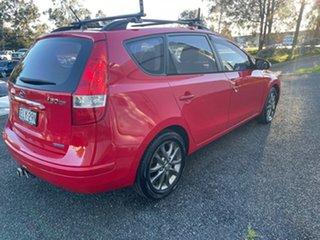 2011 Hyundai i30 FD MY11 SLX cw Wagon Red 4 Speed Automatic Wagon