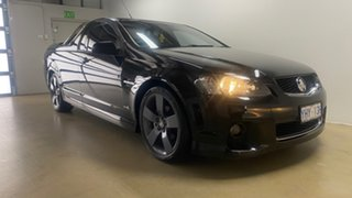 2012 Holden Commodore VE II MY12 SV6 Thunder Black 6 Speed Automatic Utility.