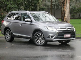 2016 Mitsubishi Outlander ZK MY17 LS 2WD Safety Pack Grey 6 Speed Constant Variable Wagon.