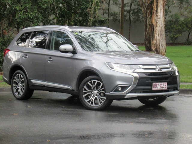 Used Mitsubishi Outlander ZK MY17 LS 2WD Safety Pack, 2016 Mitsubishi Outlander ZK MY17 LS 2WD Safety Pack Grey 6 Speed Constant Variable Wagon
