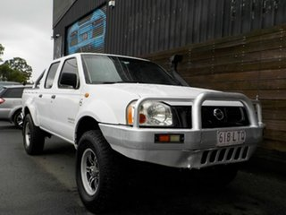 2003 Nissan Navara D22 MY2003 ST-R White 5 Speed Manual Utility.
