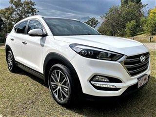 2016 Hyundai Tucson TLE Elite 2WD Winter White 6 Speed Sports Automatic Wagon.