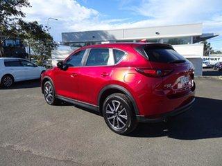 2018 Mazda CX-5 KF4WLA GT SKYACTIV-Drive i-ACTIV AWD Soul Red 6 Speed Automatic Wagon.