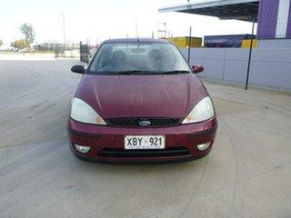 2004 Ford Focus LR CL Burgundy 4 Speed Automatic Sedan.
