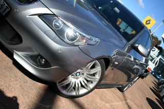 2006 BMW 525i E60 MY06 Upgrade Grey 6 Speed Auto Steptronic Sedan.