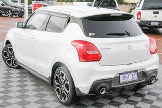2021 Suzuki Swift AZ Series II Sport Pure White 6 Speed Manual Hatchback.