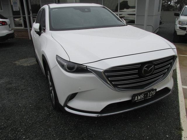 Used Mazda CX-9 TC Azami SKYACTIV-Drive i-ACTIV AWD LE Echuca, 2018 Mazda CX-9 TC Azami SKYACTIV-Drive i-ACTIV AWD LE White 6 Speed Sports Automatic Wagon