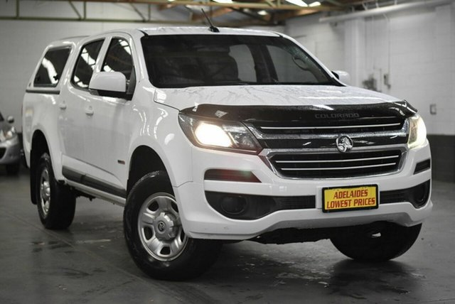 Used Holden Colorado RG MY17 LS Pickup Crew Cab 4x2 Morphett Vale, 2017 Holden Colorado RG MY17 LS Pickup Crew Cab 4x2 White 6 Speed Sports Automatic Utility