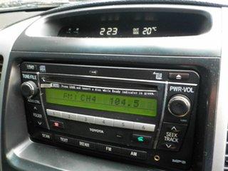 2008 Toyota Landcruiser Prado KDJ120R GXL White 6 Speed Manual Wagon