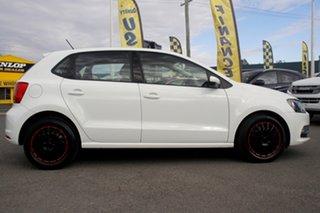 2017 Volkswagen Polo 6R MY17 66TSI Trendline Pure White 5 Speed Manual Hatchback