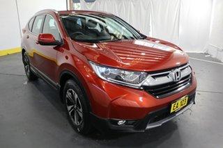 2017 Honda CR-V RW MY18 VTi FWD Red 1 Speed Constant Variable Wagon.