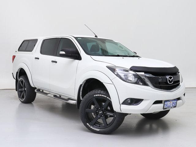 Used Mazda BT-50 MY16 GT (4x4), 2017 Mazda BT-50 MY16 GT (4x4) White 6 Speed Manual Dual Cab Utility