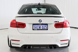 2016 BMW M3 F80 LCI Competition M-DCT White 7 Speed Sports Automatic Dual Clutch Sedan