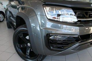 2021 Volkswagen Amarok 2H MY21 TDI580 4MOTION Perm W580 Indium Grey 8 Speed Automatic Utility.