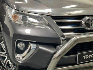 2015 Toyota Fortuner GUN156R GXL Grey 6 Speed Automatic Wagon.