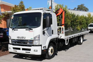 2013 Isuzu FSR 850 White Automatic Tilt Tray.