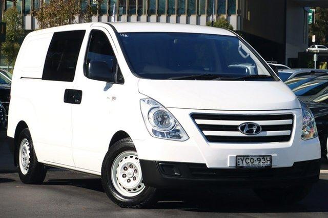 Used Hyundai iLOAD TQ3-V Series II MY16 Zetland, 2016 Hyundai iLOAD TQ3-V Series II MY16 White 5 Speed Automatic Van
