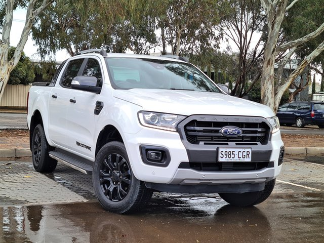 Used Ford Ranger PX MkIII 2020.25MY Wildtrak St Marys, 2019 Ford Ranger PX MkIII 2020.25MY Wildtrak White 10 Speed Sports Automatic Double Cab Pick Up