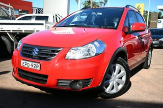 2013 Suzuki SX4 GY Crossover Navigator Red Continuous Variable Hatchback.