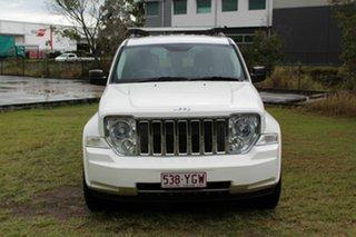 2010 Jeep Cherokee KK MY11 Limited White 4 Speed Automatic Wagon.