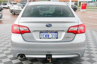 2015 Subaru Liberty B6 MY15 2.5i CVT AWD Silver 6 Speed Constant Variable Sedan.