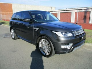 2016 Land Rover Range Rover Sport L494 16MY HSE Blue 8 Speed Sports Automatic Wagon.