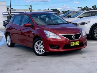 2014 Nissan Pulsar C12 ST Red 1 Speed Constant Variable Hatchback.