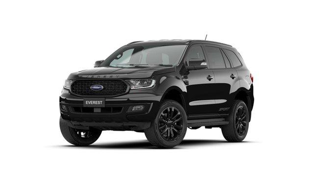 New Ford Everest UA II 2021.75MY Sport RWD Homebush, 2021 Ford Everest UA II 2021.75MY Sport RWD Shadow Black 10 Speed Sports Automatic SUV