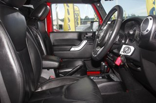 2013 Jeep Wrangler JK MY2014 Overland Flame Red 5 Speed Automatic Hardtop