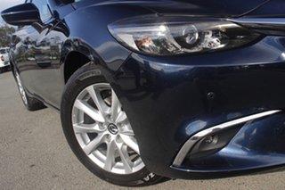 2016 Mazda 6 GJ1032 Touring SKYACTIV-Drive Deep Crystal Blue 6 Speed Sports Automatic Sedan.