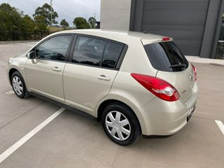 2010 Nissan Tiida C11 S3 ST Gold 4 Speed Automatic Hatchback
