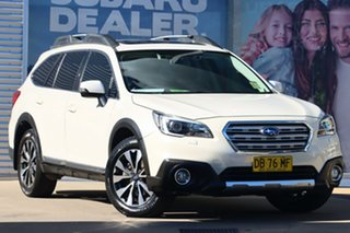 2015 Subaru Outback MY15 3.6R AWD White Continuous Variable Wagon.