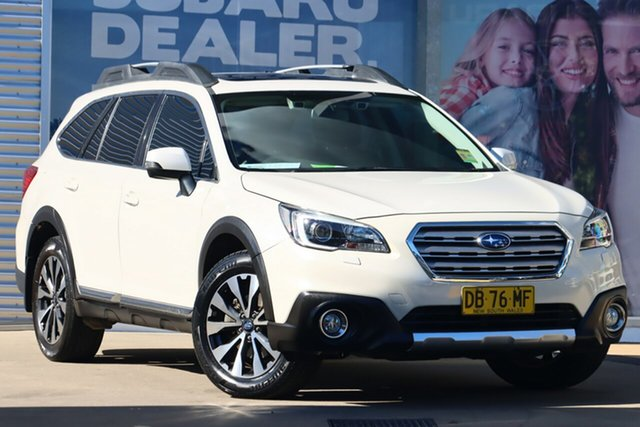 Used Subaru Outback MY15 3.6R AWD Rosebery, 2015 Subaru Outback MY15 3.6R AWD White Continuous Variable Wagon