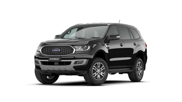 New Ford Everest UA II 2021.75MY Trend Townsville, 2021 Ford Everest UA II 2021.75MY Trend Shadow Black 10 Speed Sports Automatic SUV