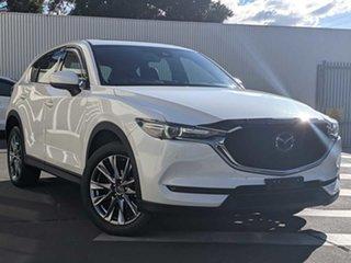 2019 Mazda CX-5 KF4WLA Akera SKYACTIV-Drive i-ACTIV AWD Snowflake White Pearl 6 Speed.