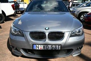 2006 BMW 525i E60 MY06 Upgrade Grey 6 Speed Auto Steptronic Sedan