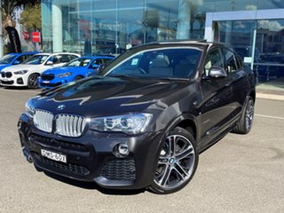 2016 BMW X4 F26 xDrive35d Coupe Steptronic Sophisto Grey Brilliant Effect 8 Speed Automatic Wagon.