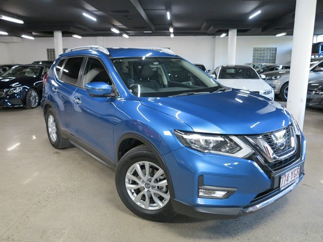 Used Nissan X-Trail T32 Series II ST-L X-tronic 2WD Albion, 2018 Nissan X-Trail T32 Series II ST-L X-tronic 2WD Blue 7 Speed Constant Variable Wagon