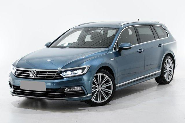 Used Volkswagen Passat 3C (B8) MY18 206TSI DSG 4MOTION R-Line Berwick, 2018 Volkswagen Passat 3C (B8) MY18 206TSI DSG 4MOTION R-Line Blue 6 Speed