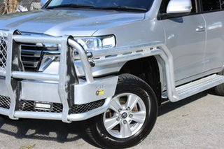 2017 Toyota Landcruiser VDJ200R GXL Silver 6 Speed Sports Automatic Wagon.