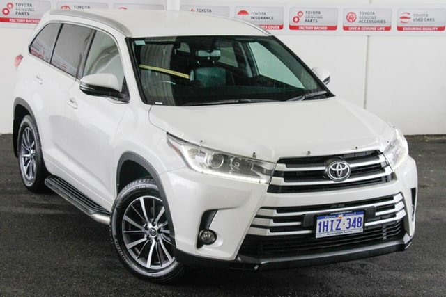 Pre-Owned Toyota Kluger GSU50R MY17 GXL (4x2) Rockingham, 2017 Toyota Kluger GSU50R MY17 GXL (4x2) Crystal Pearl 8 Speed Automatic Wagon