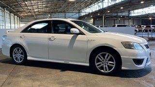 2011 Toyota Aurion GSV40R MY10 Sportivo ZR6 White 6 Speed Sports Automatic Sedan.