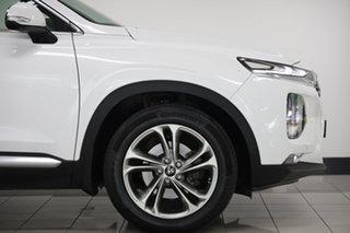 2018 Hyundai Santa Fe TM MY19 Highlander Pearl White 8 Speed Sports Automatic Wagon