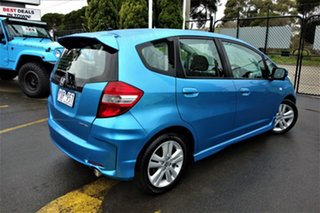 2011 Honda Jazz GE MY11 VTi Blue 5 Speed Automatic Hatchback.