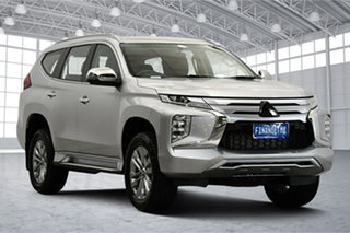 2020 Mitsubishi Pajero Sport QF MY20 GLX Sterling Silver 8 Speed Sports Automatic Wagon.