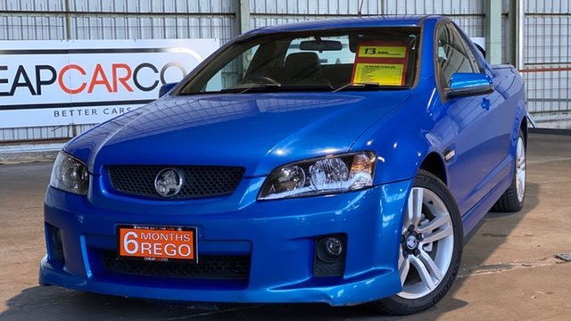 Used Holden Ute VE MY09.5 SV6 Rocklea, 2009 Holden Ute VE MY09.5 SV6 Blue 5 Speed Sports Automatic Utility