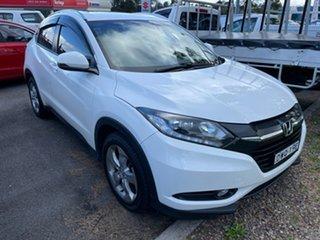2018 Honda HR-V MY17 VTi-S White 1 Speed Constant Variable Hatchback