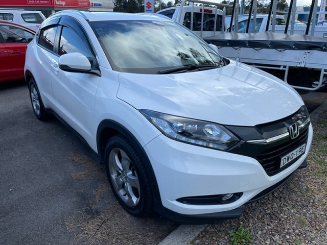 Used Honda HR-V MY17 VTi-S Maitland, 2018 Honda HR-V MY17 VTi-S White 1 Speed Constant Variable Hatchback