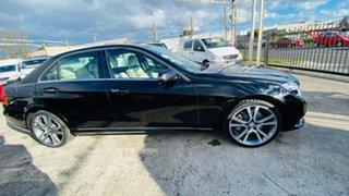 2013 Mercedes-Benz E-Class W212 MY13 E400 7G-Tronic + Black 7 Speed Sports Automatic Sedan.