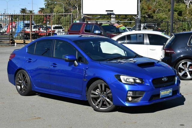 Used Subaru WRX MY15 (AWD) Underwood, 2015 Subaru WRX MY15 (AWD) Blue 6 Speed Manual Sedan